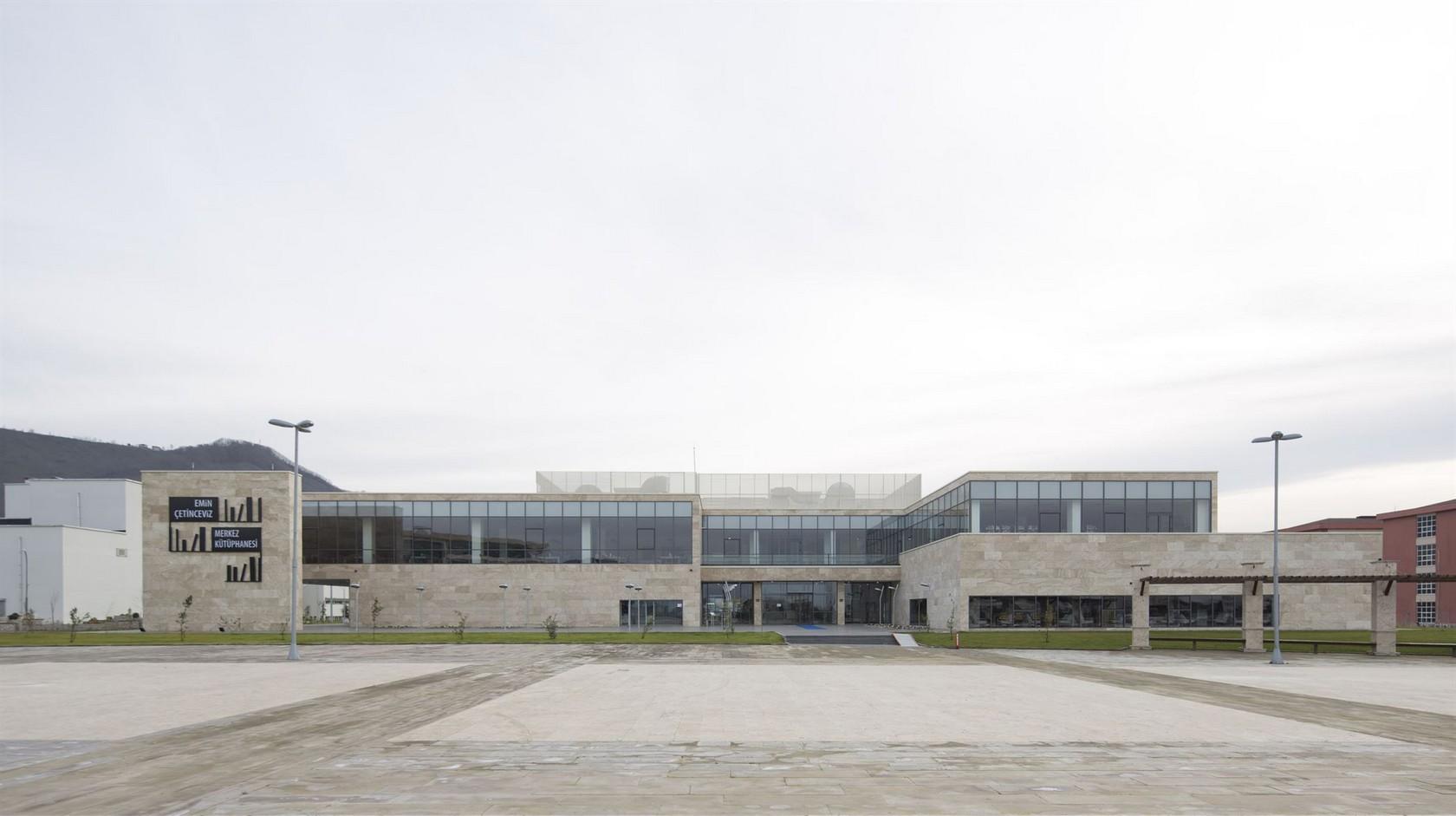 http://acemimarlik.com/Ordu Üniversitesi Emin Çetinceviz Merkez Kütüphane Binası