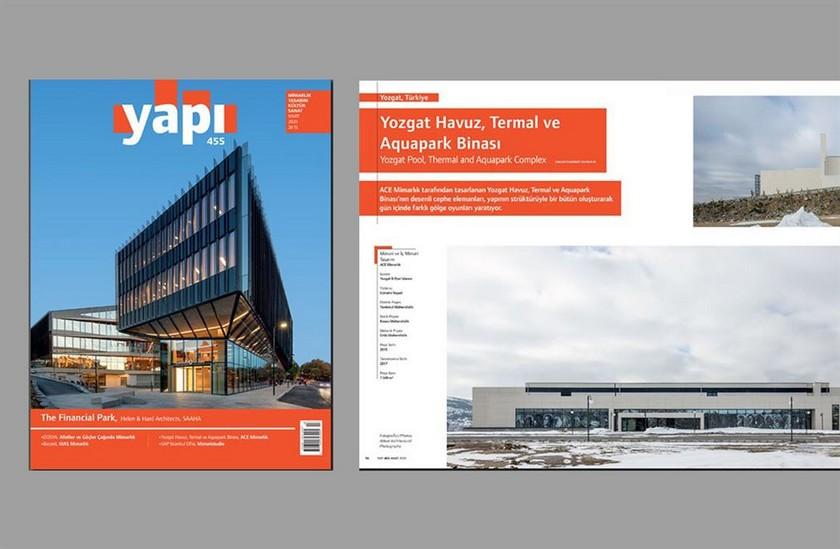 Yozgat Havuz, Termal ve Aquapark Binası, Yapı Dergisinde