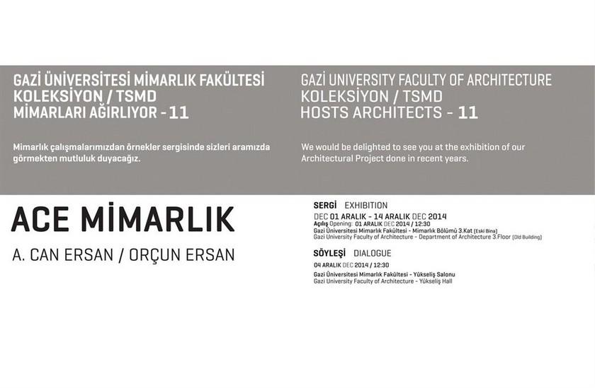 Gazi Üniversitesi Mimarlık Fakültesi Koleksiyon / TSMD Mimarları Ağırlıyor - 11