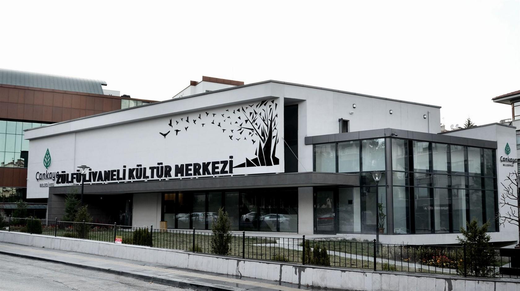 https://acemimarlik.com/Zülfü Livaneli Kültür Merkezi